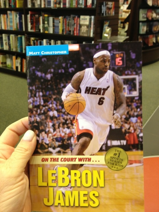 On the Court with Lebron James by Matt  Christopher